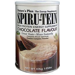 Nature`s Plus Spirutein Chocolate Protein Complex - 476g Powder
