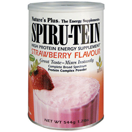 Nature`s Plus Spirutein Strawberry - Protein Complex - 544g