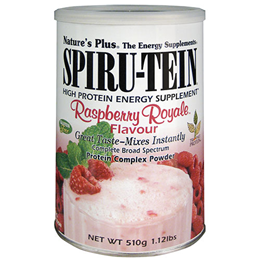 Natures Plus Spirutein Raspberry Royale - Protein Complex - 510g