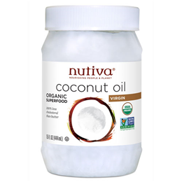 Nutiva Organic Virgin Coconut Oil - Organic Superfood - 444ml