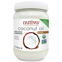 Nutiva Organic Virgin Coconut Oil - Organic Superfood - 858ml
