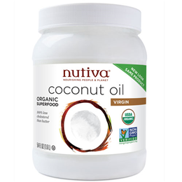 Nutiva Organic Virgin Coconut Oil - Organic Superfood - 1.6L