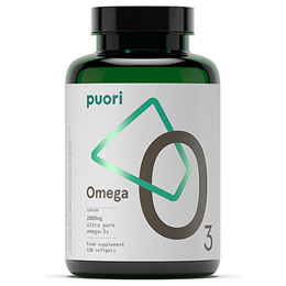 Puori O3 - Ultra Pure Fish Oil - 120 Softgels