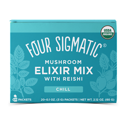 Four Sigmatic Reishi Mushroom Elixir Mix with Liquorice Root-20 Packets