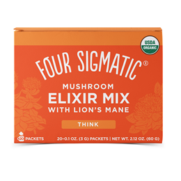 Four Sigmatic Lion`s Mane Mushroom Elixir Mix - 20 Packets