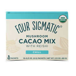 Four Sigmatic Mushroom Hot Cacao Mix with Reishi - 10 Packets