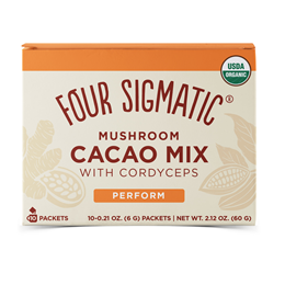 Four Sigmatic Mushroom Hot Cacao Mix with Cordyceps - 10 Packets
