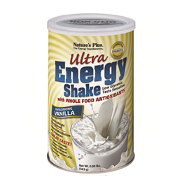 Natures Plus Ultra Energy Shake - Invigorating Vanilla - 363g