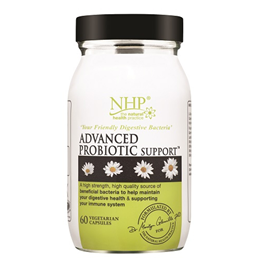Natural Health Practice Advanced Probiotic Support - 60 Vegicaps