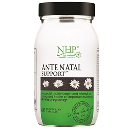 Natural Health Practice Ante Natal Support - 60 Vegicaps - Best before date is 31st March 2017