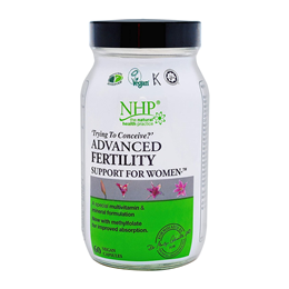 Natural Health Practice Fertility Support for Women - 60 Vegicaps