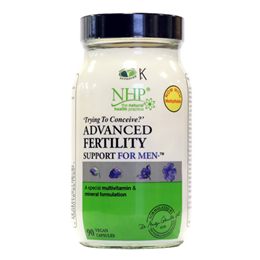 Natural Health Practice Fertility Support for Men - 90 Vegicaps