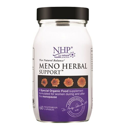 Natural Health Practice Meno Herbal Support - Balance - 60 Capsules