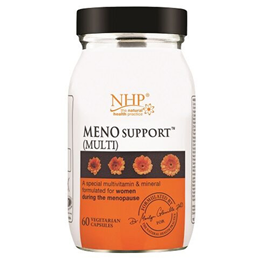 Natural Health Practice Meno Support - Multi - 60 Vegicaps