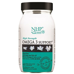 Natural Health Practice High Strength Omega 3 Support - 60 Capsules