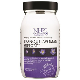 Natural Health Practice Tranquil Woman Support - 90 Vegicaps