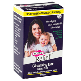 Hope`s Relief Soap Free Cleansing Bar - 110g