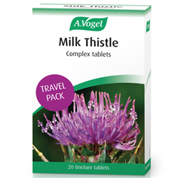 A Vogel Milk Thistle Travel Pack - 20 x 250g Complex Tincture Tablets