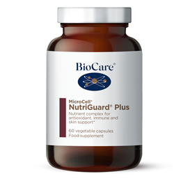 BioCare MicroCell NutriGuard Plus Antioxidant Formulation 60 Vegicaps