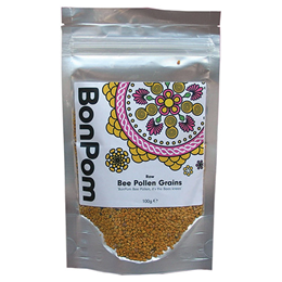 BonPom Raw Bee Pollen Grains - 100g - Best before date is 30th July 2017