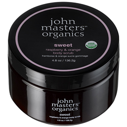 John Masters Organics Body Scrub - Sweet - Raspberry & Orange - 136g