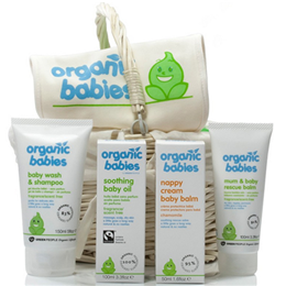 Green People Organic Babies Newborn Hamper - For Mum and Baby to Share