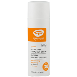 Green People High Protection Facial Sun Cream - SPF 30 - 50ml