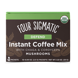 Four Sigmatic Mushroom Coffee Mix with Chaga & Cordyceps - 10 Packets