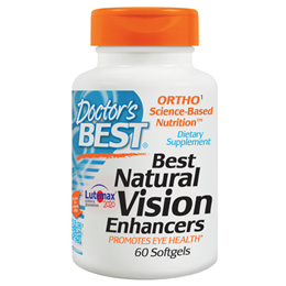 Doctors Best Natural Vision Enhancers - 60 Softgels