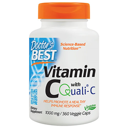 Doctors Best Vitamin C featuring Quali-C - 360 x 1000mg Vegicaps