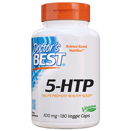 Doctors Best 5-HTP - 180 x 100mg Vegicaps