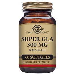 Solgar Super Starflower Oil - Provides 300mg GLA -60 x 1300mg Softgels