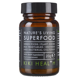 KIKI Health Organic Nature`s Living Superfood - 100% Raw - 20g Powder