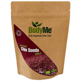 BodyMe Organic Raw Chia Seeds - 500g