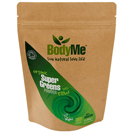 BodyMe Organic Super Greens Mix Powder - 250g