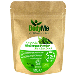 BodyMe Organic New Zealand Wheatgrass Powder - 50g