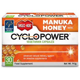 Manuka Health MGO 400+ Manuka Honey with CycloPower - 30 Capsules