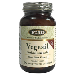 Flora Vegetal Silica - Healthy Skin, Hair + Nails - 90 Capsules