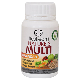 Lifestream Nature`s Multi Advanced - 60 Capsules