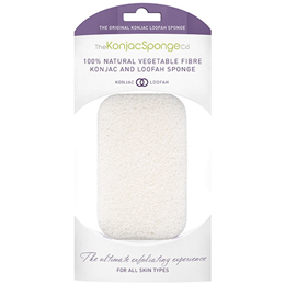 The Konjac Sponge Co Exfoliating Konjac Loofah Body Sponge