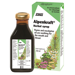 Floradix Alpenkraft Herbal Syrup - Mouth and Throat - 250ml