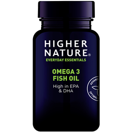 Higher Nature Fish Oil - Omega 3 - 180 x 1000mg Capsules
