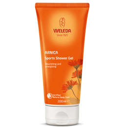 Weleda Arnica Sports Shower Gel - Nourishing and Energising - 200ml