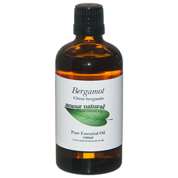 Amour Natural Bergamot Pure Essential Oil - 100ml