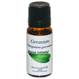 Amour Natural Geranium Pure Essential Oil - 10ml