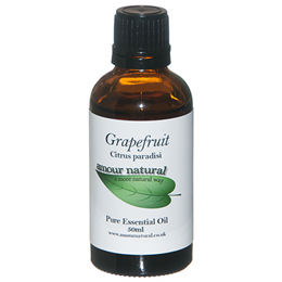 Amour Natural Grapefruit Pure Essential Oil - 50ml