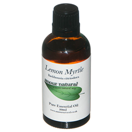 Amour Natural Lemon Myrtle Pure Essential Oil - 50ml