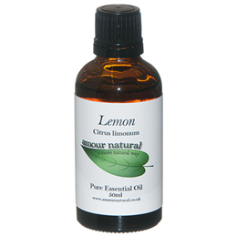 Amour Natural Lemon Pure Essential Oil - 50ml