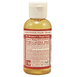 Dr Bronner`s 18-in-1 Organic Eucalyptus Castile Liquid Soap 59ml