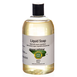 Amour Natural Organic Castile Soap - 500ml